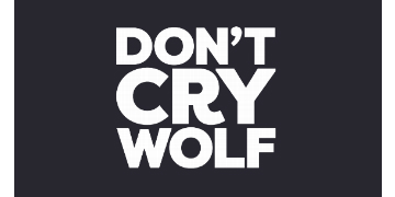 Don't Cry Wolf logo