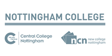 New College Nottingham logo