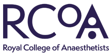 RCOA: Royal College of Anaesthetists logo