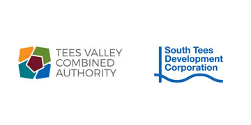 The Tees Valley Combined Authority & South Tees Development Corporation logo