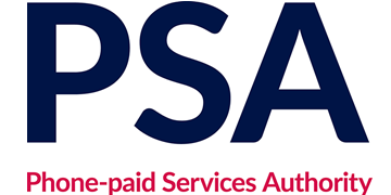 Phone-paid Services Authority (PSA) logo