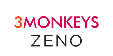 3 MONKEYS ZENO logo