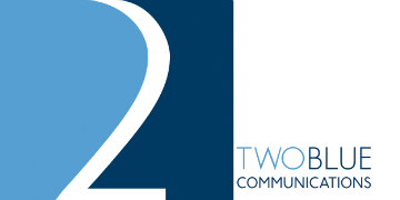 Two Blue Communications logo